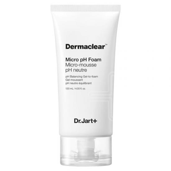 Гель-пенка для умывания ph 5.5 - Dr.Jart+ Dermaclear Micro Ph Foam Micro-mousse Ph neutre